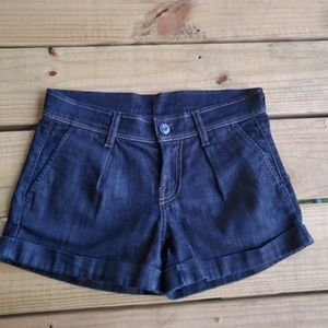 7 For All Mankind Tracy Denim Shorts Size 2